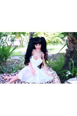 Paula delicado y lindo Angel TPE Sex Love Doll 3.28ft (100cm)