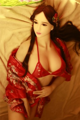 Michelle Ancient Chinese Beauty Realistic Big Breasts Sex Doll Full TPE Silicone Love Doll