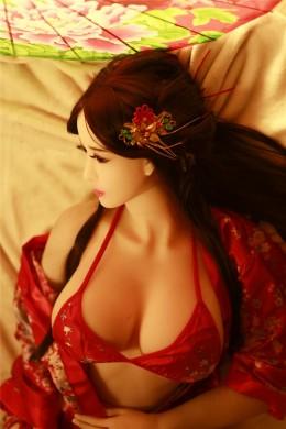 Michelle Ancient Chinese Beauty Realistische Große Brüste Sex Doll Voll TPE Silikon Liebespuppe